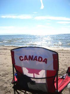 Wasaga Beach, Ontario - At 14km it's the longest freshwater beach in the world