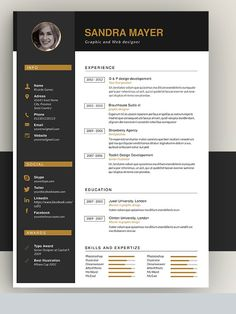 Amazing Resume Templates 2016 That Would Help You To Land A Job! Creative,  Flat, Slim And Other Resume Template Design Not Only For Designer Positions.