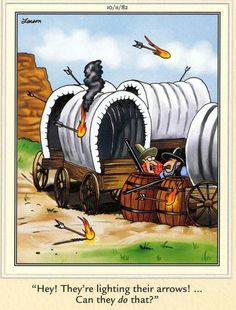 The Far Side by Gary Larson Cartoon Jokes, Funny Cartoons, Cartoon Images, Far Side Cartoons, Far Side Comics, Cartoon Network Adventure Time, Adventure Time Anime, The Far Side Gallery, Cowboy Humor