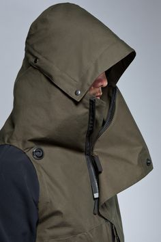 Storm Hood this would be so useful in a warm winter coat as well