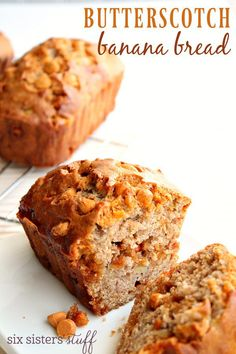 Butterscotch Banana Bread | Six Sisters' Stuff