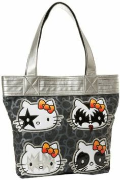 shoulder bags: Hello Kitty Tote,Black/White/Grey/Red/Yellow,One Size Tote Handbags, Purses And Handbags, Hello Kitty Handbags, Loungefly Hello Kitty, Hello Kitty My Melody, Designer Handbags On Sale, Hot Band, Pretty Cats, Pretty Kitty
