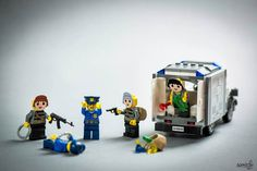 Fotógrafo leva personagens de Lego para aventuras no mundo real