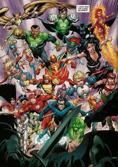 DC Heroes - Mark Bagley