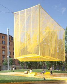 Lampion als ontmoetingsplaats in Rome - nieuws - nieuws - de Architect