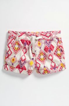 Tucker + Tate 'Clover' Print Shorts (Big Girls) available at #Nordstrom
