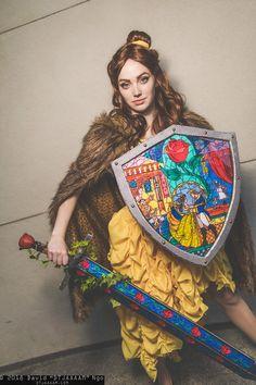 Warrior Belle - Beauty & The Beast, photo by DTJAAAAM