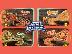 Domino's Pizza Mania Extremes at Rs.79 + 10% Cashback using MobiKwik +Get Flat Rs.25 CashBack @ https://goo.gl/Q5Sm4F