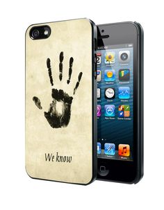 Skyrim Dark Brotherhood We Know Samsung Galaxy S3 S4 S5 Note 3 Case, Iphone 4 4S 5 5S 5C Case, Ipod Touch 4 5 Case