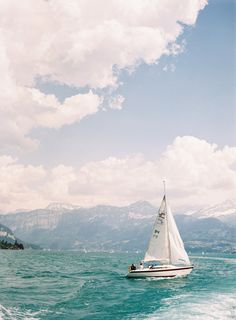 Sailboat Interlaken Photography by Jessica Lorren Photography Oh The Places You'll Go, Places To Travel, Travel Destinations, Places To Visit, Travel Local, Beautiful World, Beautiful Places, Switzerland Vacation, Foto Poster