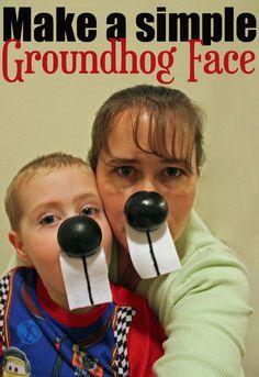 Faccia da marmotta - Make a simple Groundhog Face