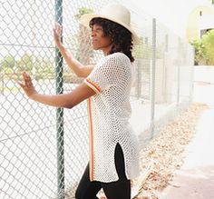Ravelry: Colour Stripe Mesh Cardigan pattern by Rose Obom Sweater Patterns, Cardigan Pattern, Color Stripes, Beautiful Crochet, Pattern Making, Ravelry, Winter Fashion, Mesh, Colour