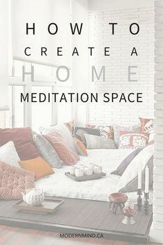 Meditation Raumdekor, Meditation Room Decor, Meditation Benefits, Meditation For Beginners, Meditation Techniques, Meditation Scripts, Meditation Pillow, Meditation Quotes, Zen Room