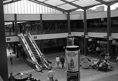 The Whitgift Shopping Centre Croydon Surrey England in the London History, Local History, Family History, Vintage London, Old London, Old Pictures, Old Photos, Vintage Photos, Croydon London