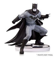 Batman Black & White Statuette Greg Capullo 2nd Edition 15cm