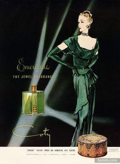 Coty (Perfumes) 1945