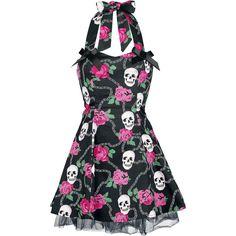 Vestido Rockabilly, Lolita, Pin Up x HR London $49.99 (euros)  en EMP Rock Mailorder España : La más grande venta por correo de Merchandising Oficial Musica Metal / Hard rock / Heavy / Gótico / Militar/ Lolita & Punk Style ..de Europa !