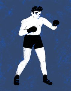 Boxer by Lili des Bellons #illustration