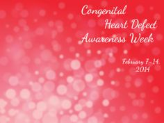 chd awareness week 2014