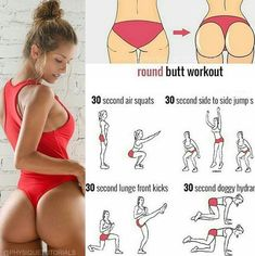 Best Glute Workout- Top 5 Glutes Workouts For Firming & Toning Buttock Muscles in 30 Days. Fitness Workouts, Fitness Po, Forma Fitness, Fitness Goals, At Home Workouts, Health Fitness, Butt Workouts, Health Logo, Health Goals