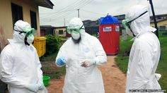 A trial of a potential drug to treat Ebola has started at a Medecins Sans Frontieres centre in Liberia.