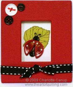 Quilled Ladybug — Intermediate Quilling Tutorial