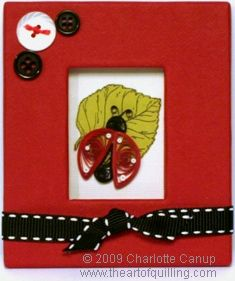 Quilled Ladybug — Intermediate Quilling Tutorial