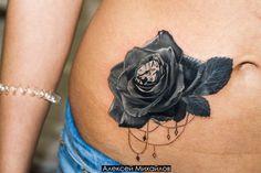 Тату роза в стиле реализм с бриллиантом. Индивидуальный эскиз розы. #tattoo #rose #тату #роза #эскиз #татуировки #реализм  https://vk.com/tattoo_design - найти эскиз татуировки