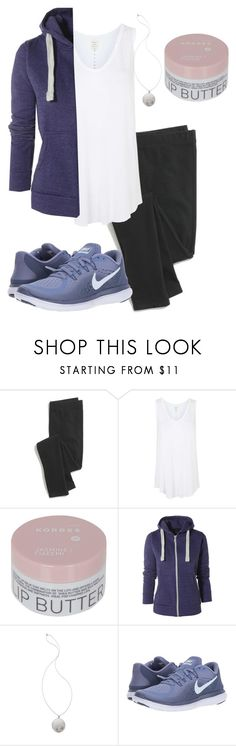 """""""Allison Argent Workout Outfit"""" by zoetozier ❤ liked on Polyvore featuring Madewell, Topshop, Korres, AX Paris, House of Harlow 1960 and NIKE"""