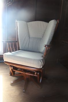 Rock Your Baby to Sleep In Comfort II Peaceful Valley Furniture's Swivel Glider Rocker