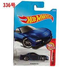 New Arrivals 2017 P Hot Wheels 1:64 95th mazda rx7 Diecast Car Models Collection #HOTWHEELS