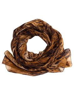 Trent Nathan oblong animal print scarf. Made in Italy $25