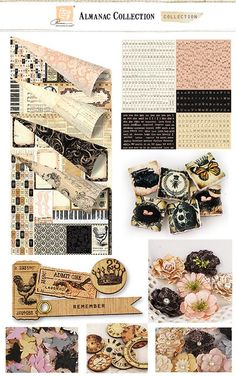 Prima Almanac Collection - LOVVVE this collection.. cant wait till a KIT comes out for Prima Live !