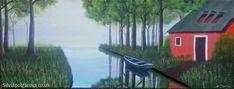 Landscape Paintings, Original Paintings, The Originals, Canvas, Artist, Tela, Canvases, Landscape Drawings, Artists
