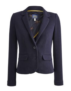 Joules Womens Navy Jersey Blazer Jacket 1DWM in Clothes, Shoes & Accessories, Women's Clothing, Tops & Shirts