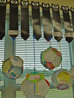 Teaching By the Sea: The Most Amazing Dodecahedron Book Report Project Ever! Visit my webpage for a fun Book Report lesson! Book Report Projects, Reading Projects, Book Projects, School Projects, School Ideas, 4th Grade Books, 6th Grade Reading, Owl Classroom, 4th Grade Classroom