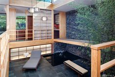 This Asian inspired mid century house in Seattle is a stunner. Built in 1953 and design by Paul Hayden Kirk and refreshed by architect Tom Kundig.