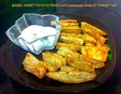 Baked Crispy Sweet Potato Fries for kids