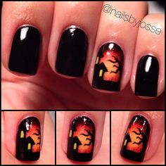 Halloween by nailsbyjosse #nail #nails #nailart