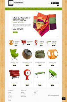 Prestashop template #home #furniture #ecommerce #responsive