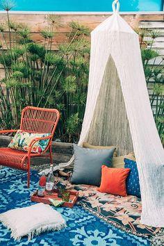 Top 16 Beauty Bohemian Patio Designs – Easy Decor Project For Backyard Garden - Homemade Ideas (2)