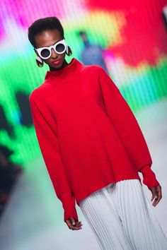 Woolworths celebrates the opening of SA Fashion Week by collaborating with leading local fashionistas as they showcase their STYLEBYSA range. Turtle Neck, Lifestyle, Celebrities, Sweaters, Collection, Fashion, Moda, Celebs, Fashion Styles