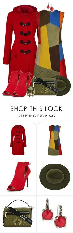 """""""Patchwork"""" by tlb0318 ❤ liked on Polyvore featuring Victoria Beckham, Christys', Dsquared2 and Stephen Dweck"""