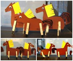 Hobby horse, preschool classroom, spring crafts, crafts for kids, activit. Horse Camp, Dog Coloring Page, School Clubs, Hobby Horse, Crafts For Kids To Make, Preschool Classroom, Valentines For Kids, Valentine's Day Diy, Paper Toys