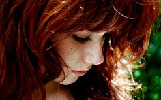 red hair and freckles - Google Search