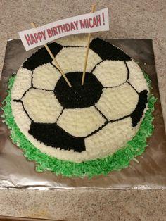 Soccor Cake For 9 Year Old Boy