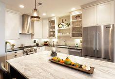Granite countertops in this great kitchen from Pure Granite & Stone in Cincinnati. #housetrends http://www.housetrends.com/specialist/Pure-Granite-and-Stone