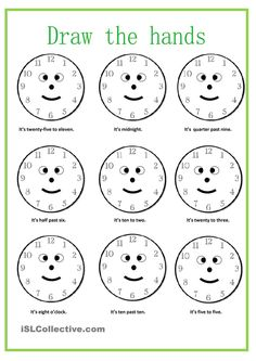 What time is it? worksheet - Free ESL printable worksheets made by teachers