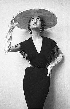 Nancy Berg by Milton Greene 1953