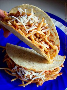 Spaghetti Tacos - Explore the World with Travel Nerd Nici, one Country at a Time. http://TravelNerdNici.com
